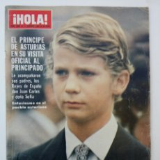 Coleccionismo de Revista Hola: REVISTA HOLA OCTUBRE 1980. Lote 74597161