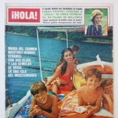 Coleccionismo de Revista Hola: REVISTA HOLA SEPTIEMBRE 1982. Lote 74597613