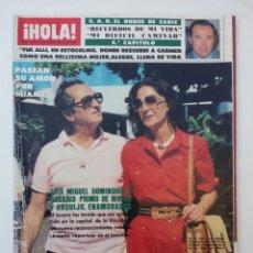 Coleccionismo de Revista Hola: REVISTA HOLA DICIEMBRE 1982. Lote 74598574