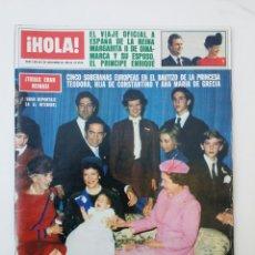 Coleccionismo de Revista Hola: REVISTA HOLA NOVIEMBRE 1983. Lote 74599417