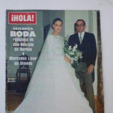 Coleccionismo de Revista Hola: REVISTA HOLA JULIO 1984. Lote 74599707