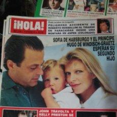 Coleccionismo de Revista Hola: HOLA N 2468. Lote 74810231