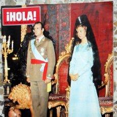 Coleccionismo de Revista Hola: REVISTA HOLA ANTIGUA Nº1632 DICIEMBRE 1975.HOMENAJE REYES DE ESPAÑA. JUAN CARLOS I PROCLAMACION.. Lote 75220119