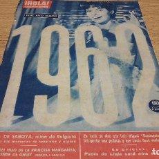 Coleccionismo de Revista Hola: REVISTA HOLA. Nº 905. DICIEMBRE 1961 / ENERO 1962. BUEN ESTADO.. Lote 75339755