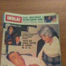 Coleccionismo de Revista Hola: LOTE DE 13 REVISTAS DE HOLA - Nº EN EL INTERIOR. Lote 76013295