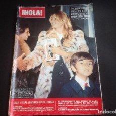 Coleccionismo de Revista Hola: PEDIDO MINIMO 5€ HOLA REVISTA 1474 25 NOVIEMBRE 1972 BORDIÚ. Lote 76759383