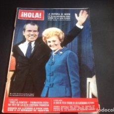Coleccionismo de Revista Hola: HOLA REVISTA 1473 18 NOVIEMBRE 1972 VICTORIA DE NIXON. Lote 76759719
