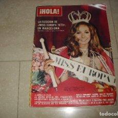 Coleccionismo de Revista Hola: REVISTA HOLA AÑOS SETENTA MISS EUROPA DIANA SCAPOLAN . Lote 80663790