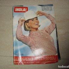 Coleccionismo de Revista Hola: REVISTA HOLA AÑOS SETENTA DORIS DAY . Lote 80663886