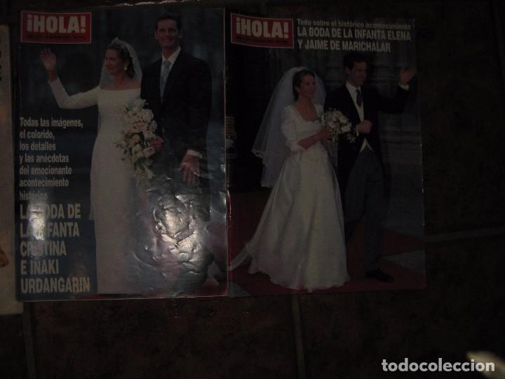 Coleccionismo de Revista Hola: 3 revista hola muerte diana de gales 1997 - boda infanta cristina 1997 y Elena 1995 - Foto 3 - 83864048