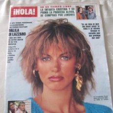 Coleccionismo de Revista Hola: HOLA 84 ROCIO JURADO OLE OLE EUROVISION SEMANA SANTA MALAGA FAMA MOCEDADES. Lote 113022662