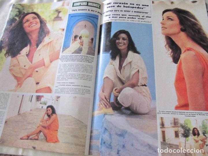 Coleccionismo de Revista Hola: HOLA 1984 SARA MONTIEL ENRIQUE INGLESIAS MAYRA GOMEZ KEMP UN DOS TRES MISS MUNDO AMPARO MUÑOZ - Foto 7 - 84863656