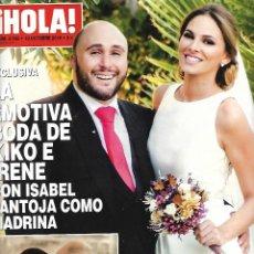 Coleccionismo de Revista Hola: REVISTA HOLA. Lote 85661640
