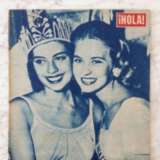 Collectionnisme de Magazine Hola: HOLA - 1957 - MISS UNIVERSO, GLADYS ZENDER, KIM NOVAK, NINA DYER, WALTER CHIARI. Lote 86285096