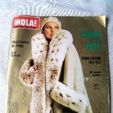 Coleccionismo de Revista Hola: HOLA! NÚMERO ESPECIAL OTOÑO-INVIERNO 1974-75. Lote 86907720