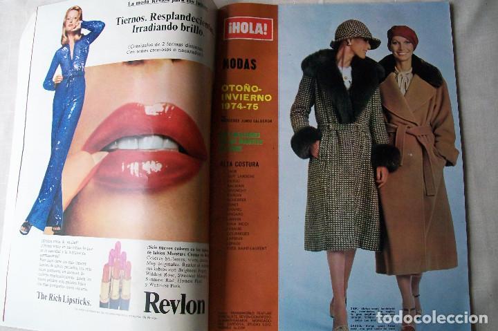 Coleccionismo de Revista Hola: HOLA! NÚMERO ESPECIAL OTOÑO-INVIERNO 1974-75 - Foto 2 - 86907720