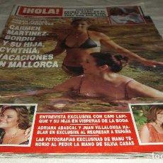Coleccionismo de Revista Hola: REVISTA HOLA JULIO 2008. Lote 97365460