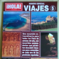 Coleccionismo de Revista Hola: HOLA. ESPECIAL VIAJES NÚMERO 5.. Lote 87505551