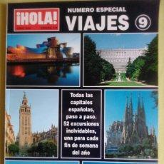 Coleccionismo de Revista Hola: HOLA. ESPECIAL VIAJES NÚMERO 9.. Lote 87505892