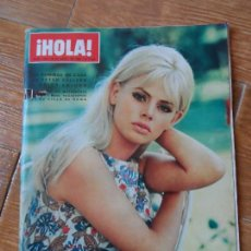 Coleccionismo de Revista Hola: REVISTA HOLA - BRIGITTE BARDOT - MASSIEL - SOFIA LOREN -. Lote 87624916