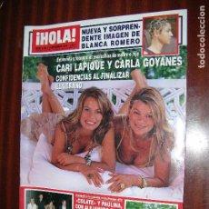 Coleccionismo de Revista Hola: (F.1) REVISTA HOLA Nº 3.188 AÑO 2005 (LO MÁS EMOCIONANTE EN MI VIDA ES QUE MI HIJA ME ABRACE,RIVERA. Lote 88100488