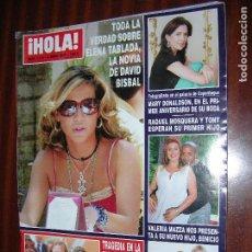 Coleccionismo de Revista Hola: (F.1) REVISTA HOLA Nº 3.175 AÑO 2005 ( LEQUIO Y MARIA ENSEÑAN POR PRIMERA VEZ SU CASA). Lote 88100808