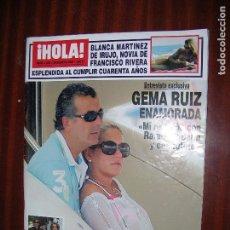 Coleccionismo de Revista Hola: (F.1) REVISTA HOLA Nº 3239 AÑO 2006 (SORAYA OT IV ESTOY DESEANDO CASARME CON MI NOVIO, TENER HIJOS). Lote 88968288