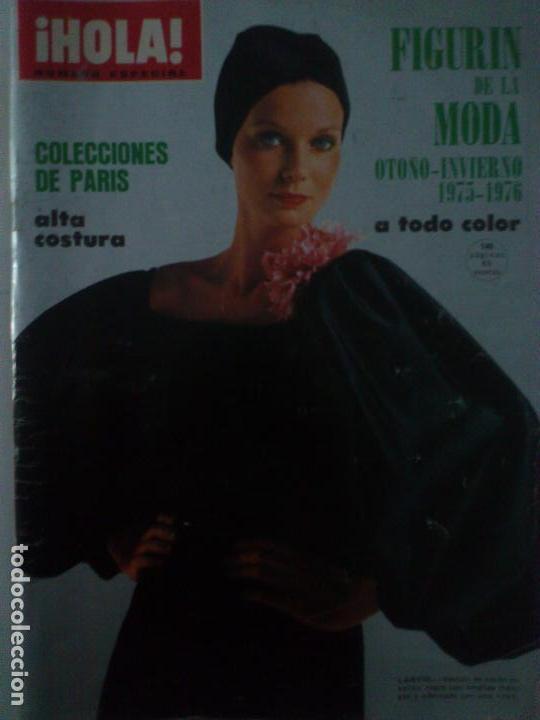 OTOÑO ESPECIAL ALTA COSTURA PARIS1975 LIBRO GRUESO LANVIN (Coleccionismo - Revistas y Periódicos Modernos (a partir de 1.940) - Revista Hola)