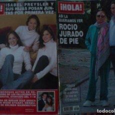 Coleccionismo de Revista Hola: LOTE 16 REV. HOLA OPERACION TRIUNFO THYSSEN 2001. Lote 89833912