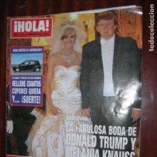 Coleccionismo de Revista Hola: (F1) REVISTA HOLA Nº 3175 AÑO 2005 ( PALOMA LAGO Y ALVARO BULTO DE NUEVO JUNTOS). Lote 90507680