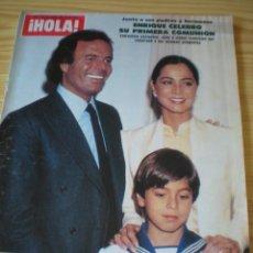 Coleccionismo de Revista Hola: REVISTA HOLA Nº 2076 DEL 09 DE JUNIO DE 1984. Lote 90621290