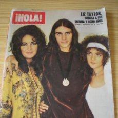Coleccionismo de Revista Hola: REVISTA HOLA Nº 1365 DE FECHA 24 OCTUBRE 1970. Lote 90626250