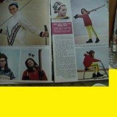 Coleccionismo de Revista Hola: REVISTA HOLA 1965 ROCÍO DÚRCAL MARISOL. Lote 90814160