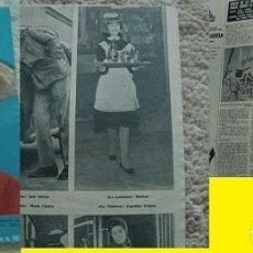 Coleccionismo de Revista Hola: REVISTA HOLA ROCÍO DÚRCAL MARISOL 1963. Lote 90814205