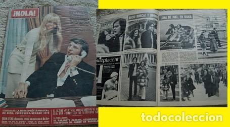 REVISTA HOLA 1970 ROCÍO DÚRCAL (Coleccionismo - Revistas y Periódicos Modernos (a partir de 1.940) - Revista Hola)