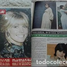 Coleccionismo de Revista Hola: REVISTA HOLA 1970 ROCÍO DÚRCAL. Lote 90814860
