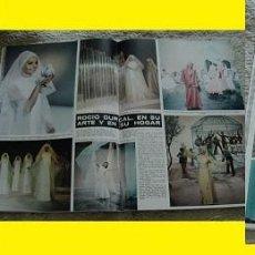 Coleccionismo de Revista Hola: REVISTA HOLA 1971 ROCÍO DÚRCAL. Lote 90814920