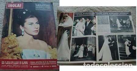 REVISTA HOLA 1966 ROCÍO DÚRCAL (Coleccionismo - Revistas y Periódicos Modernos (a partir de 1.940) - Revista Hola)