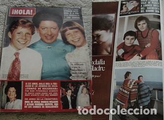 REVISTA HOLA 1974 ROCÍO DURCAL (Coleccionismo - Revistas y Periódicos Modernos (a partir de 1.940) - Revista Hola)