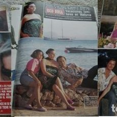 Coleccionismo de Revista Hola: REVISTA HOLA 1990 ROCÍO DÚRCAL. Lote 90815100