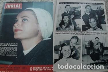 REVISTA HOLA 1965 ROCÍO DÚRCAL (Coleccionismo - Revistas y Periódicos Modernos (a partir de 1.940) - Revista Hola)