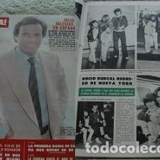 Coleccionismo de Revista Hola: REVISTA HOLA 1980 ROCÍO DÚRCAL JULIO IGLESIAS. Lote 90815220