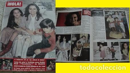 REVISTA HOLA 1979 ROCÍO DÚRCAL (Coleccionismo - Revistas y Periódicos Modernos (a partir de 1.940) - Revista Hola)