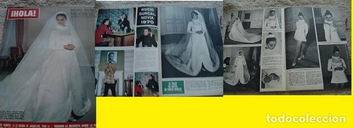 REVISTA HOLA 1970 ROCÍO DURCAL (Coleccionismo - Revistas y Periódicos Modernos (a partir de 1.940) - Revista Hola)
