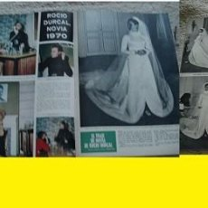 Coleccionismo de Revista Hola: REVISTA HOLA 1970 ROCÍO DURCAL. Lote 90815345
