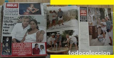 REVISTA HOLA 1994 ROCÍO DÚRCAL LOLITA (Coleccionismo - Revistas y Periódicos Modernos (a partir de 1.940) - Revista Hola)