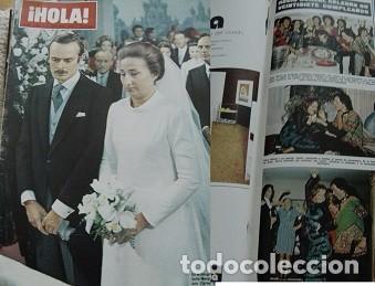 REVISTA HOLA 1972 ROCÍO DÚRCAL (Coleccionismo - Revistas y Periódicos Modernos (a partir de 1.940) - Revista Hola)