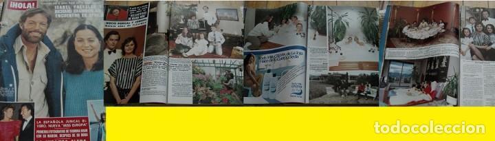 REVISTA HOLA 1985 ROCÍO DÚRCAL (Coleccionismo - Revistas y Periódicos Modernos (a partir de 1.940) - Revista Hola)
