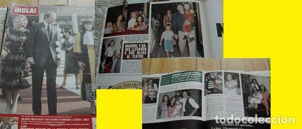 REVISTA HOLA 1979 ROCÍO DÚRCAL MARISOL (Coleccionismo - Revistas y Periódicos Modernos (a partir de 1.940) - Revista Hola)
