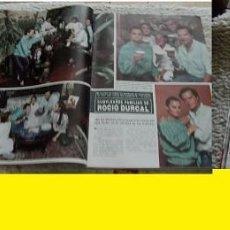 Coleccionismo de Revista Hola: REVISTA HOLA 1986 ROCÍO DÚRCAL BERTÍN OSBORNE. Lote 90815835